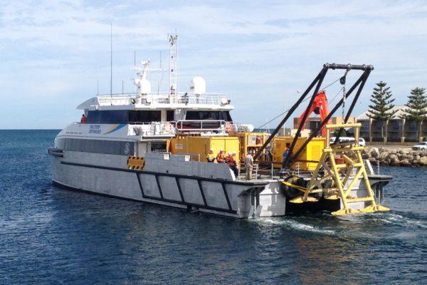 A-frame fabrication and vessel mobilisation 4