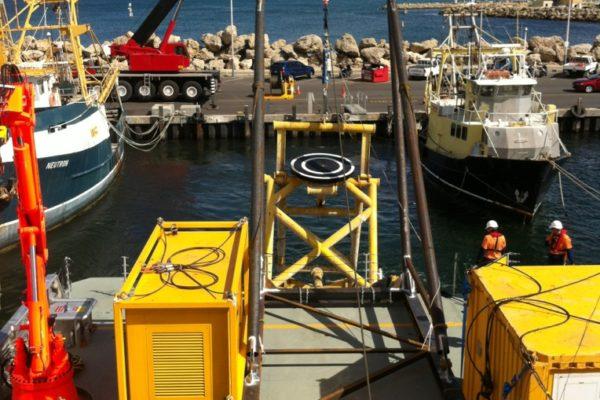 A-frame fabrication and vessel mobilisation 5
