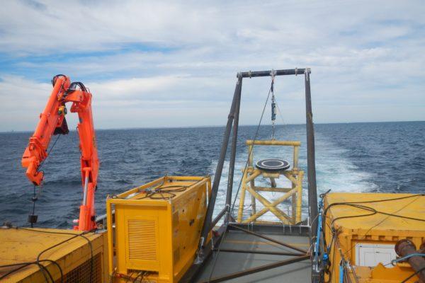 A-frame fabrication and vessel mobilisation 6