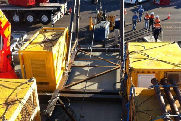 A-frame fabrication and vessel mobilisation 7