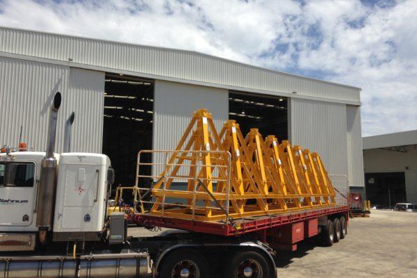 Seabed Transponder frame - load out 2