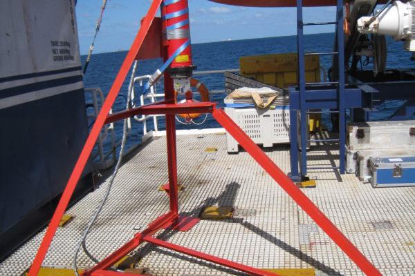 Seabed Transponder frame - tripod