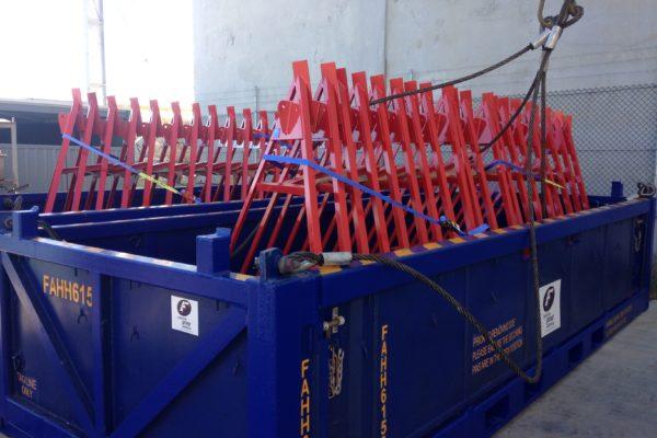 Seabed Transponder frames - tripod collapsable