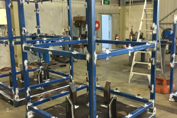 Subsea Control Module lifting and transport frame - Fabrication 1