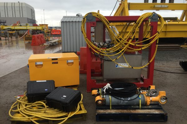Subsea pipe support - load test pack 1