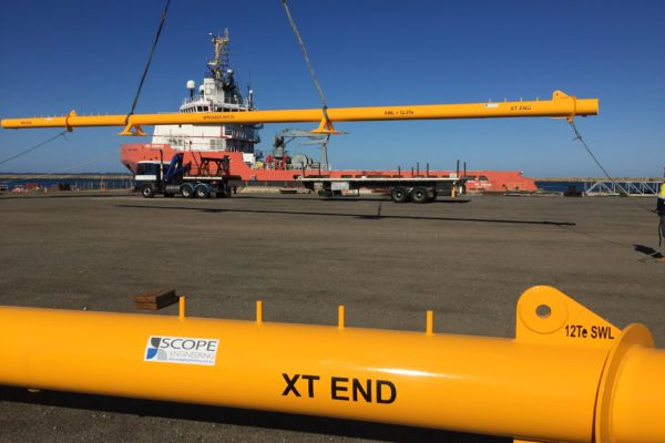 offshore spool spreader bars